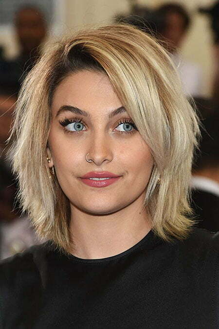Layered Bob Hairtyle, Hair Blonde 2017 Without