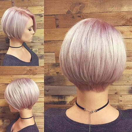 Womens Short Haircut, Short Hair Bob Fine