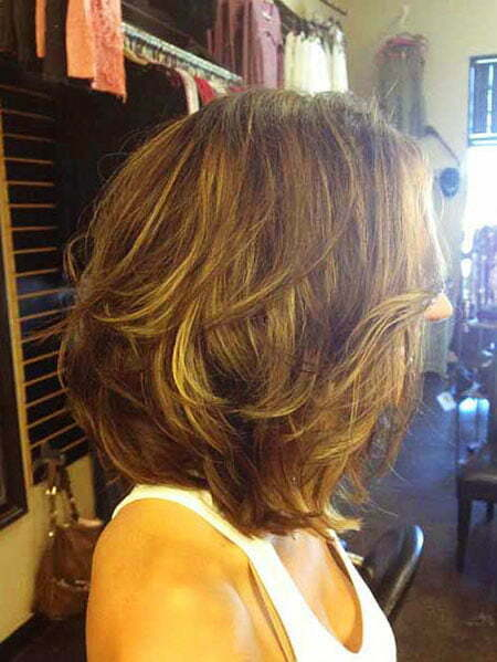 Layered Hair Short Bob
