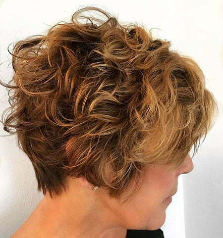 Curly Short 50 Tousled