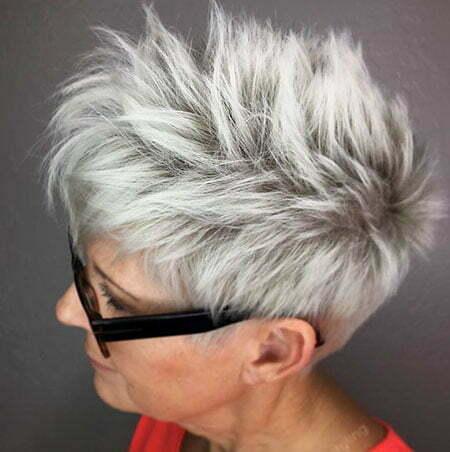 Short Blonde Choppy Women