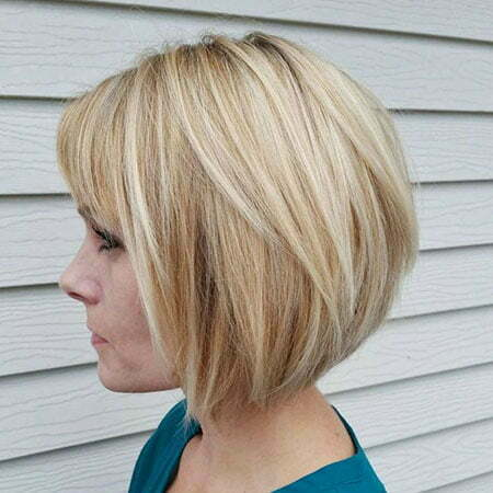 Bob Blonde Short Choppy