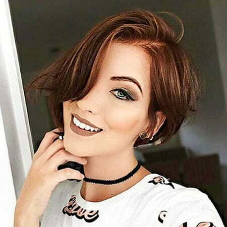 Hair Short Asymmetrical Bob
