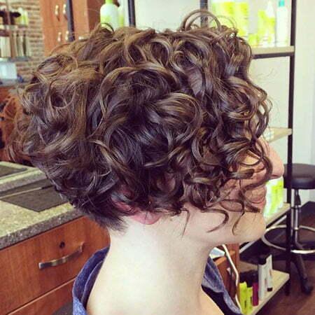 Curly Bob Short Hair