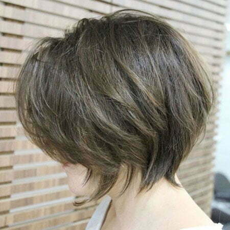 Bob Choppy Layered Tousled