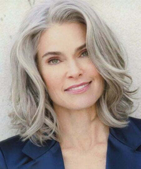 Hair Grey Blonde 50