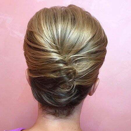 Hair Updo Short Wedding