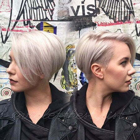 Short Pixie Hair Bob