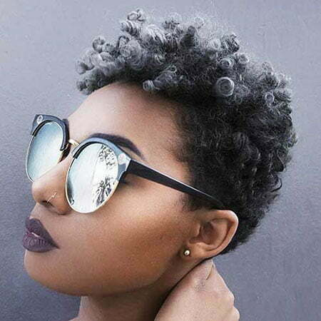 Hair Natural Short Styles