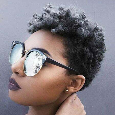 Hair Natural Short Styles