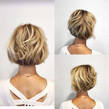 Bob Layered Bronde Short