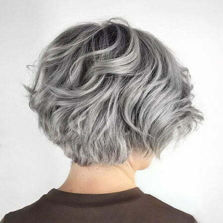 Short Layered Wavy Over