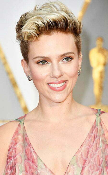 Short Pixie Hair Johansson