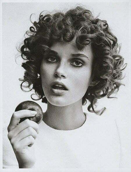 Curly Short Sophia Fringe