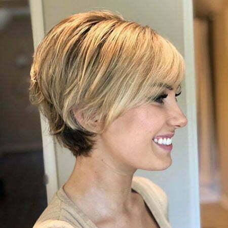 Short Choppy Hair Fine