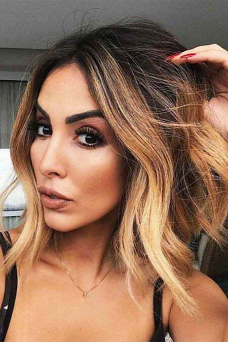 Hair Balayage Beauty Makeup
