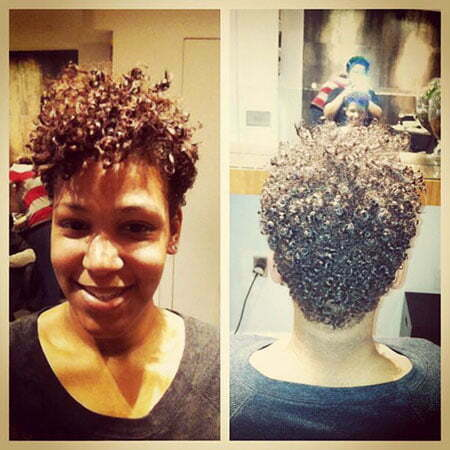 Natural Hair Tapered Styles