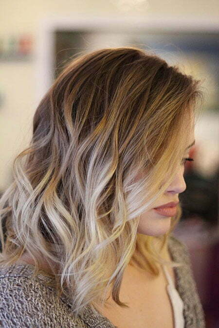 Hair Balayage Color Blonde