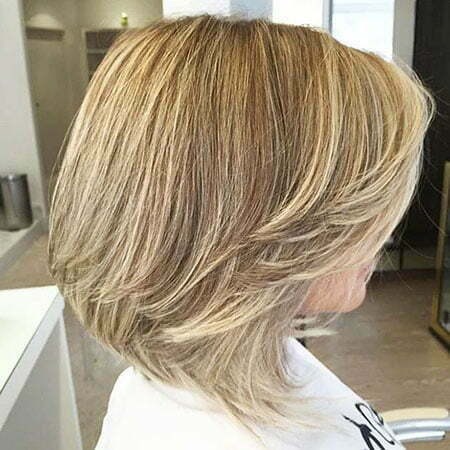 Bob Layered Bobs Blonde