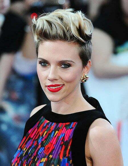 Pixie Age Hair Johansson