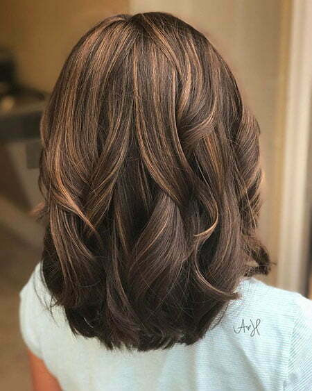 Hair Balayage Color Medium