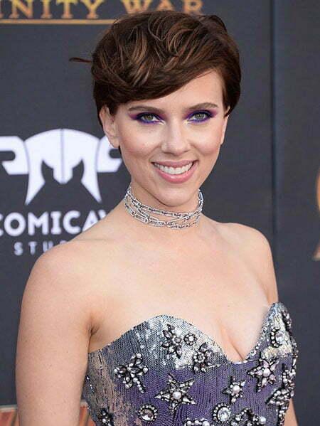 Scarlett Johansson Blue Celebrity
