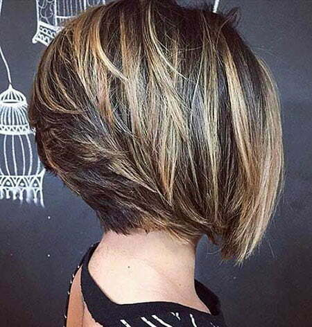 Short Layered Hairtyles Bob