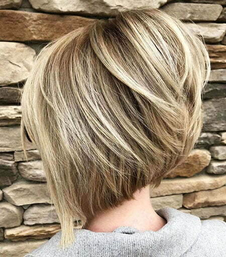 Bob Blonde Bobs Layered