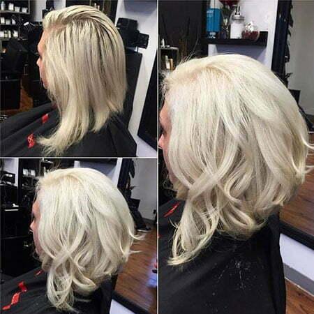 Hair Blonde Color Modern