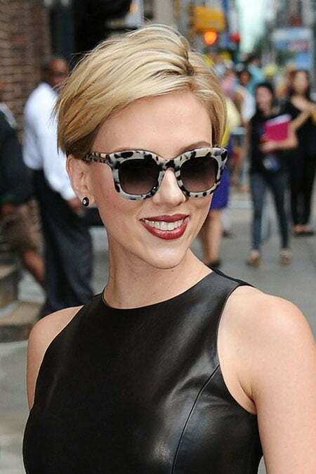 30 Best Scarlett Johansson Short Hair Short Hairstyles 2018 2019