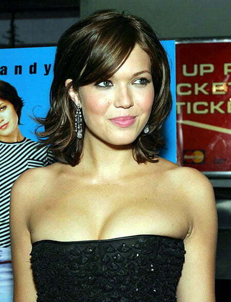 Mandy Moore Short Hair, Hair Medium Length Dos