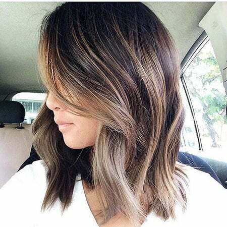 Brunette Short Hair, Balayage Blonde Hair Brown