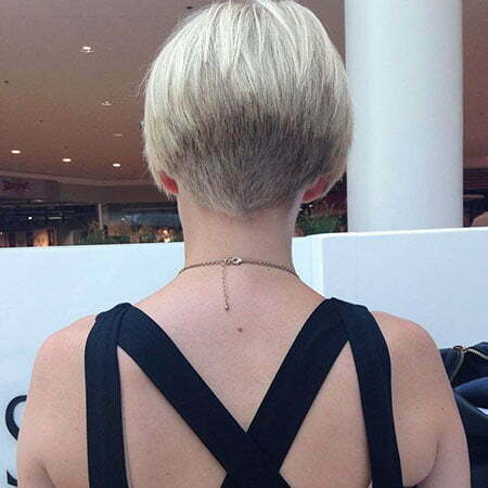 Shaved Nape, Hair Bob Short Bobs