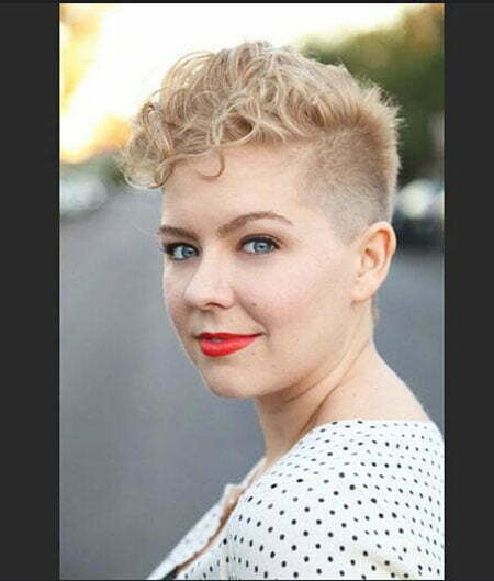 Pixie Curly Hair for Round Face, Short Pixie Hair Curly
