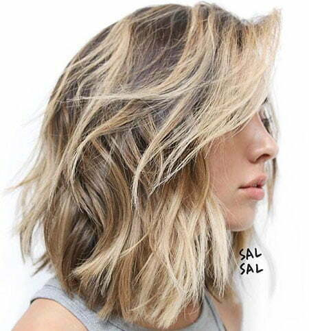 Lob Choppy Thick Bronde