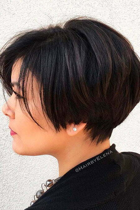 Layered Short Bob Pixie