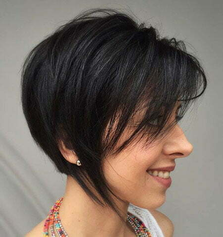 Bob Black Pixie Layers