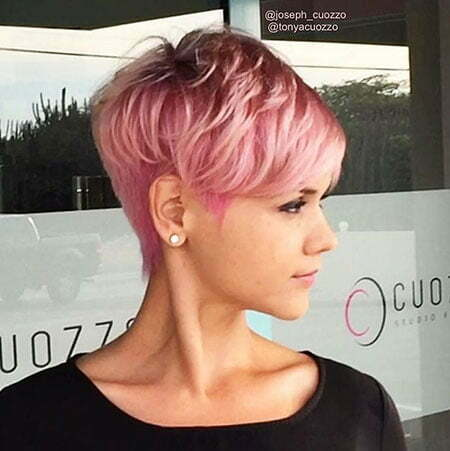 Pixie Hair Cut Voluminous