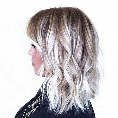 Blonde Hair Balayage Short