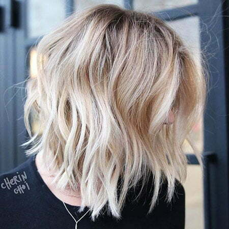 Blonde Length Medium Lob