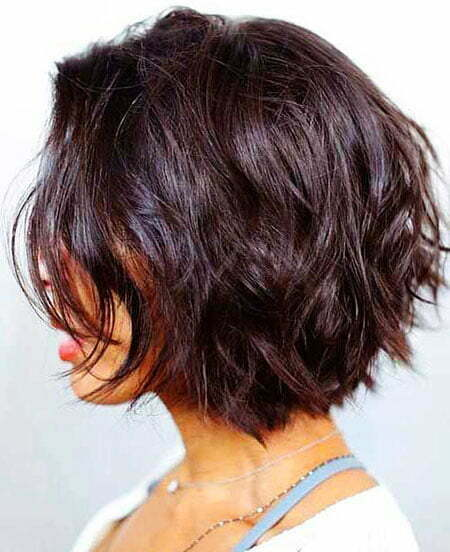 Short Length Choppy Wavy