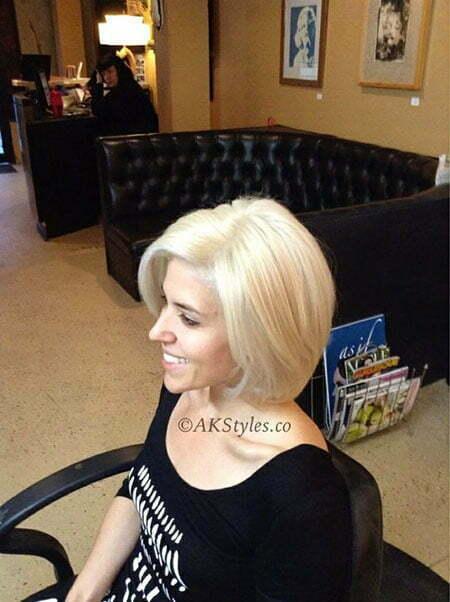 Bob Blonde Hair Platinum