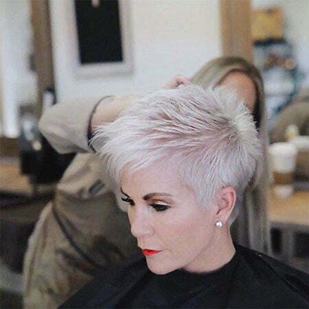 Pixie Short Hair Over