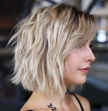 Blonde Bob Hair Balayage