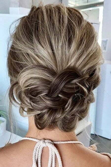 Hair Prom Updo Low