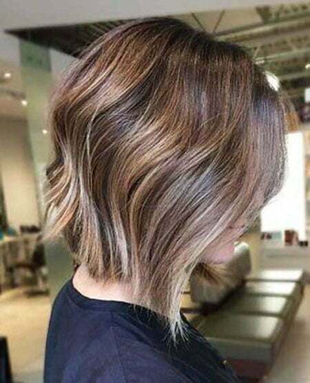 Bob Frisuren Ombre Look