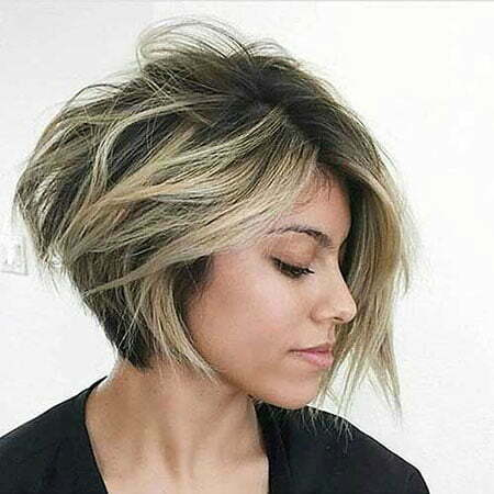 Pixie Bob Tousled Parted