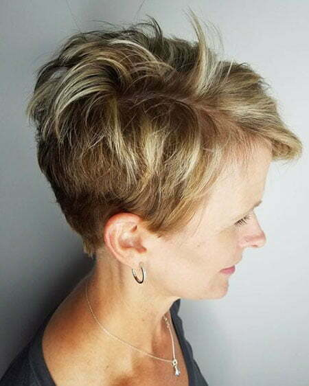 Pixie Tapered Messy Layered