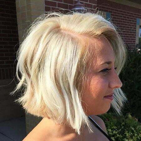 Blunt Blonde Bob Platinum