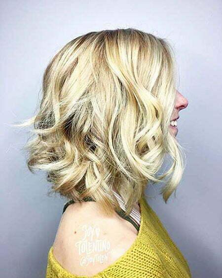 Blonde Layered Layers Hairtyles